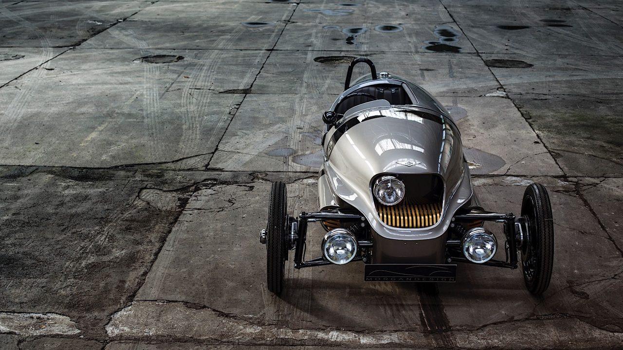 صورة مورغن تتحفنا بسيارة ذات ثلاثة عجلات ومحرك كهربائي