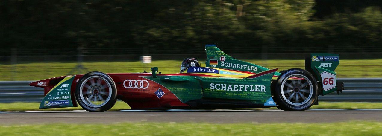 صورة أودي تعلن مشاركتها في سباقات الفورمولا E