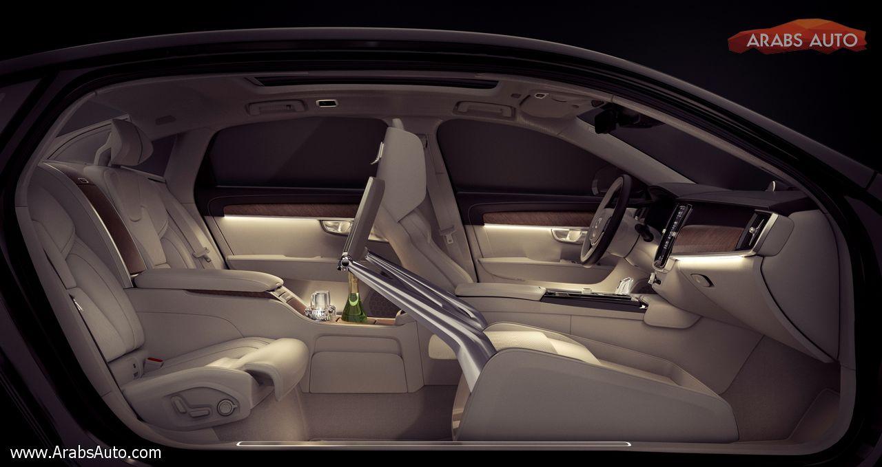 صورة فولفو S90 Excellence عنوان الفخامة الجديد