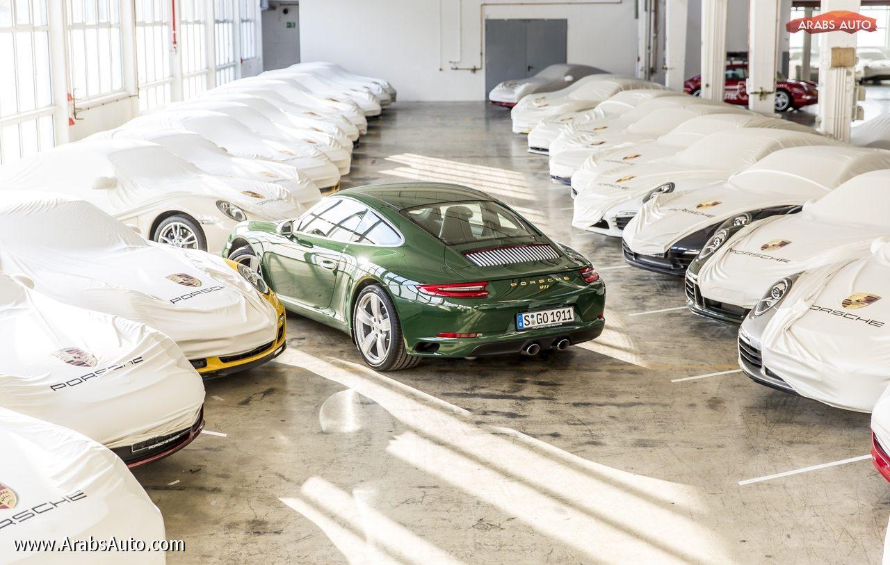صورة بورشه 911: السيارة المليون تخرج من خط الإنتاج