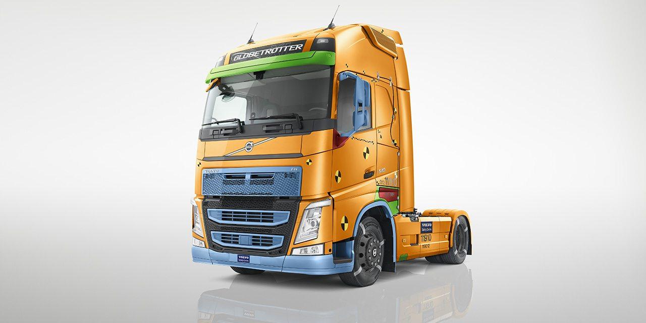 صورة تقرير السلامة من شركة فولفو للشاحنات 2017 يُركز على مُستخدمي الطريق المُهددين