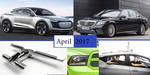 ملخص أخبار السيارات لشهر أبريل 2017