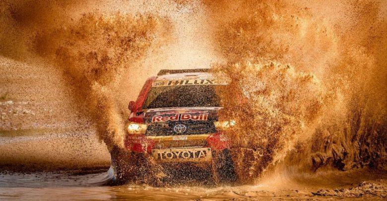 """صورة رالي المغرب الصحراوي: العطية يفوز بـ """"الماراثون"""" الأول"""