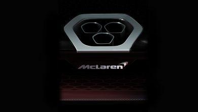 صورة سيارة خارقة جديدة من ماكلارين!