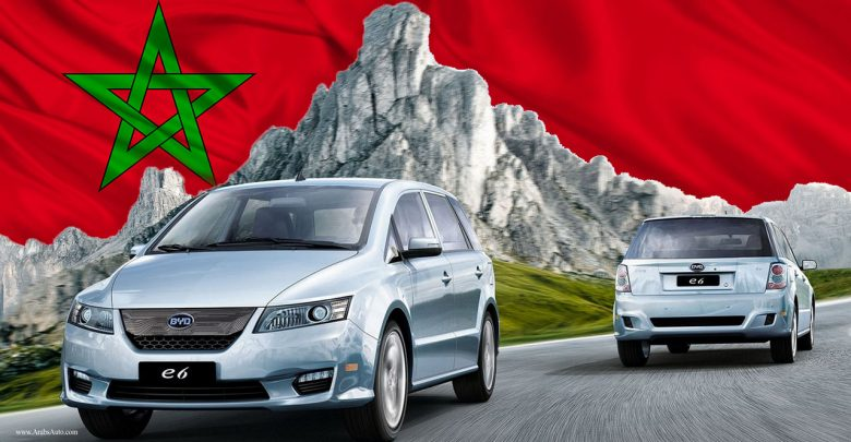 صورة بي واي دي لتصنيع السيارات الكهربائية في المغرب