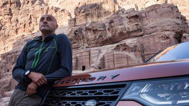 صورة مصطفى سلامة سفيراً لـ لاند روفر في منطقة الشرق الأوسط وشمال أفريقيا