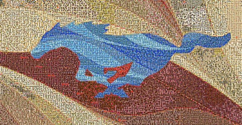 صورة فسيفساء مُدهشة لفورد موستانج احتفالًا بعيدها الـ 54