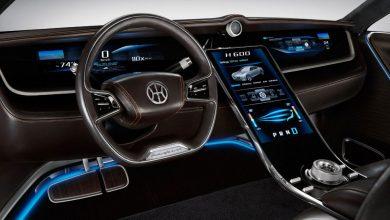 صورة بينينفارينا للسيارات تُحضر لتقديم سيارة كهربائية فاخرة