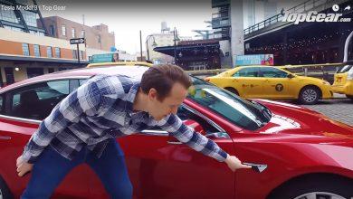 صورة فيديو: تسلا موديل 3 تحت تجربة توب جير، ما تقييمها؟