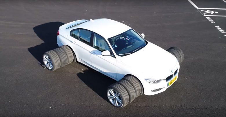 هل استخدام اطارات اعرض يعني تماسكًا أكبر Tyre 2