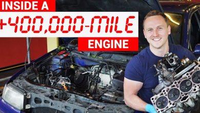 صورة فيديو: داخل محرك قطع مسافة 695 ألف كيلومتر.. أنظف مما تتوقع!
