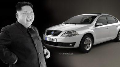 """صورة """"النصر"""" و """"السلام"""" سيارات كوريا … الشمالية"""