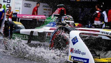 صورة فريق أودي سبورت ABT شايفلر يفوز ببطولة الفرق في نهائي بطولة الفورمولا إي