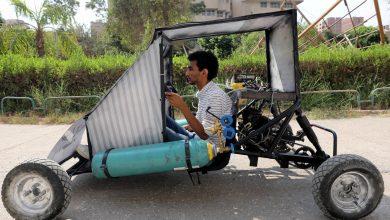 صورة فيديو: طلاب مصريون يصممون سيارة تعمل بطاقة الهواء