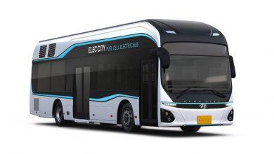 صورة حافلات هيونداي الكهربائية بخلايا وقود الهيدروجين في الشرق الأوسط العام القادم