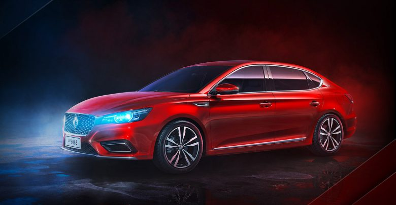 سيارة MG6 الجديدة طراز 2019