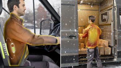صورة كونتيننتال تكشف عن نماذج ألبسة ذكية جديدة لتعزيز السلامة