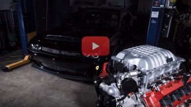 صورة فيديو: شاهد بناء محرك هيمي بقدرة 840 حصانًا