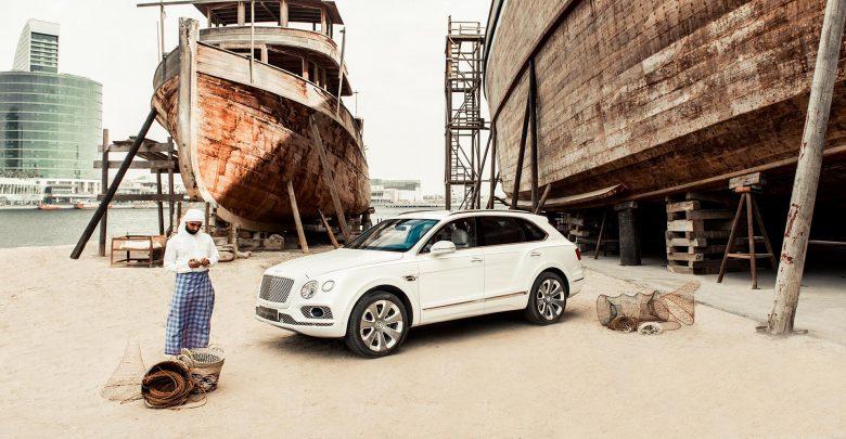 صورة سيارة جديدة تحتفل بصيد اللؤلؤ، وهذه المرّة من بنتلي