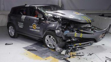 صورة رينج روفر إيفوك تحصل على خمس نجوم في تقييم السلامة