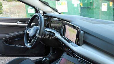 صورة لوحة قيادة فولكس واجن جولف تنكشف، ما الذي نعرفه عن السيارة حتى الآن؟