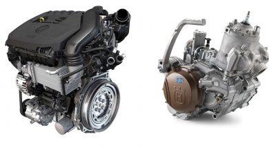 صورة الفرق بين المحرك ثنائي الأشواط ورباعي الأشواط