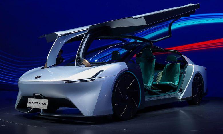صورة الصينية GAC ENO.146 السيارة الأفضل انسيابية في العالم