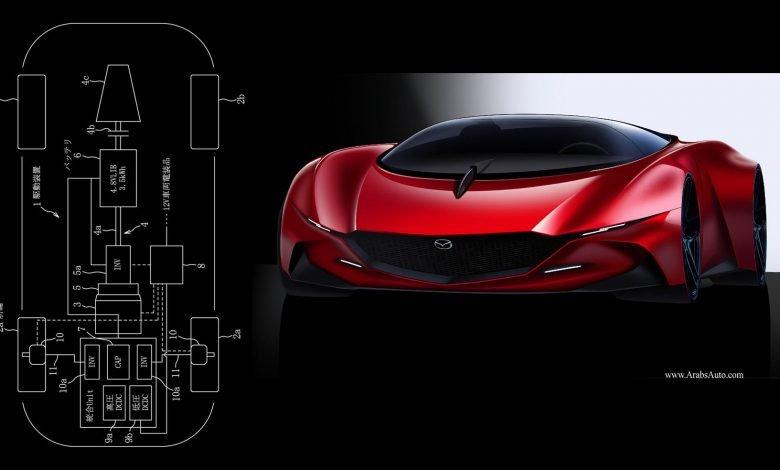 صورة مازدا تسجل براءة اختراع، هل سنرى محرك فانكل مرّة أخرى؟