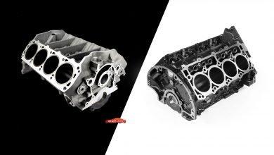 صورة الفروقات بين المحرك المصنوع من الألمنيوم والمحركات الحديدية