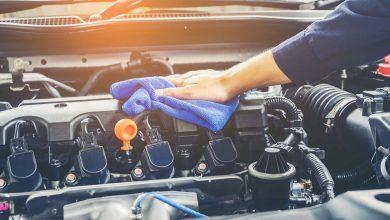 صورة كيفية تنظيف المحرك
